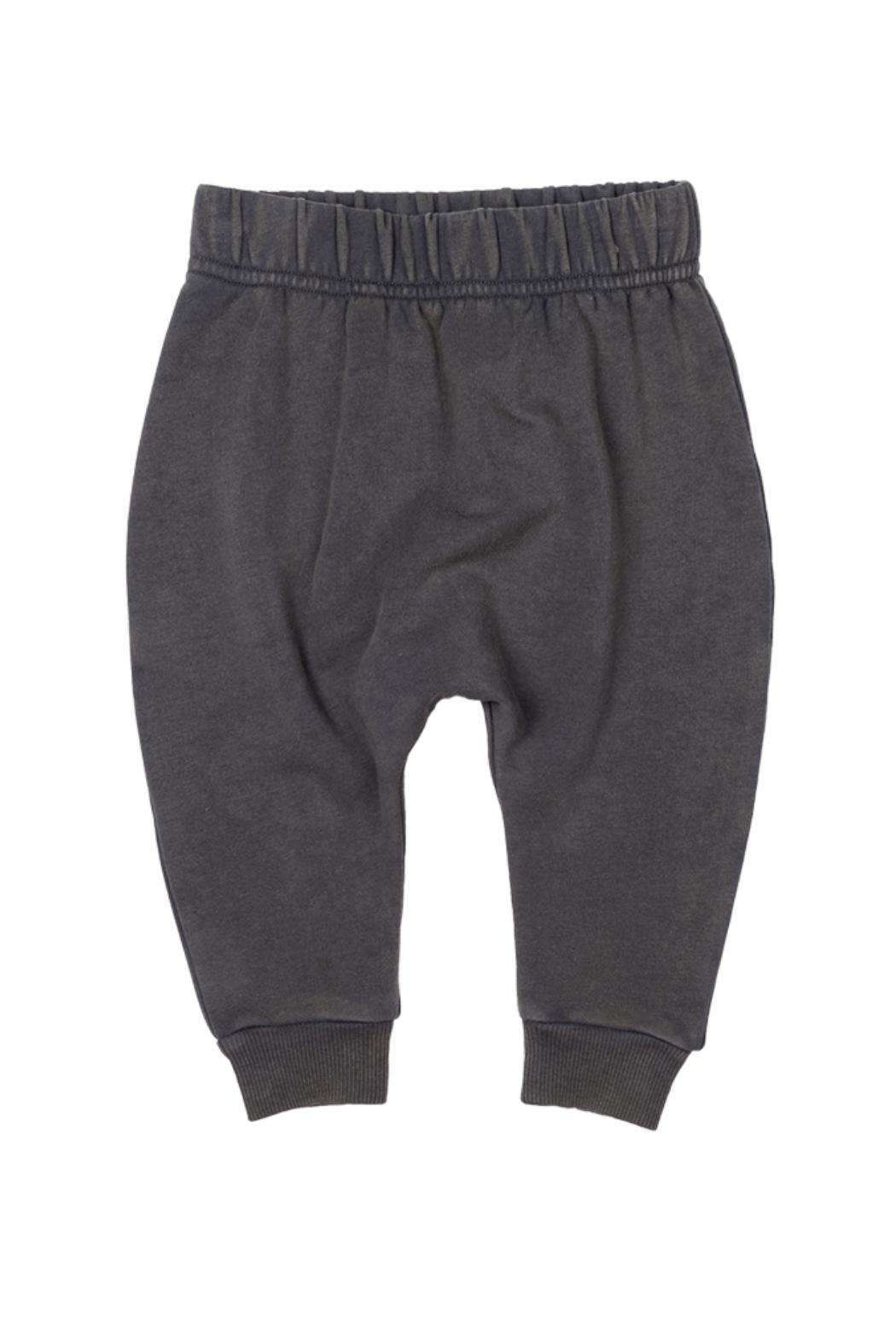 Rock Your Baby Grey Baby Trousers - Front Cropped Image