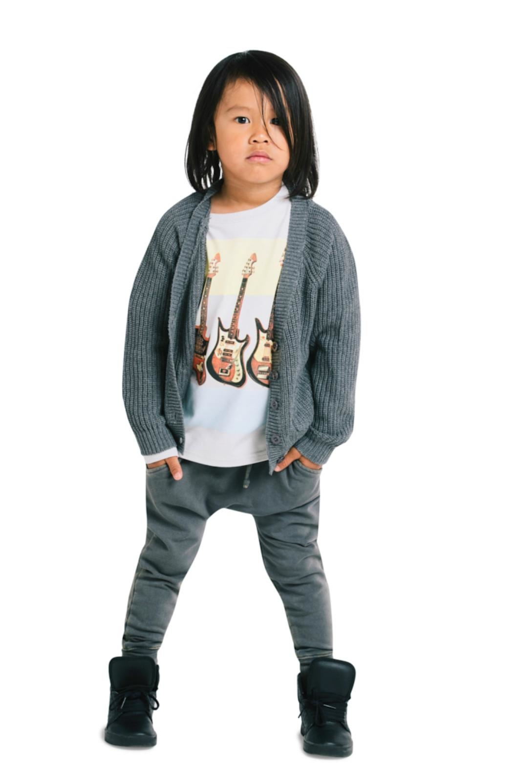 Rock Your Baby Grey Baby Trousers - Side Cropped Image