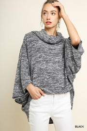 Umgee USA Grey Batwing Sweater - Product Mini Image