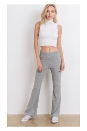 Polly & Esther Grey Bell-Bottom Pants - Product Mini Image