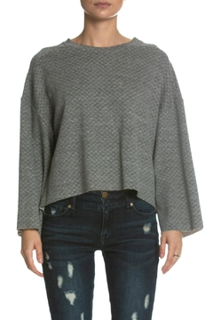 be8062e4ce36eb ... Elan Grey Bell-Sleeve Sweater - Product List Placeholder Image