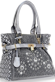 Handbag Express Grey Bling Bag - Product Mini Image