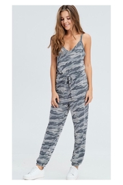 Polly & Esther Grey Camo Jumpsuit - Product Mini Image