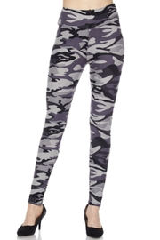 2NE1 Apparel Grey Camo Leggings - Product Mini Image