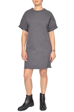 Native Youth Grey Canvas Dress - Product List Image