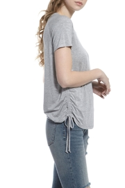 Olive + Oak Grey Cinched Top - Product Mini Image
