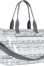 Rock Flower Paper Grey Coated Duffel - Product Mini Image