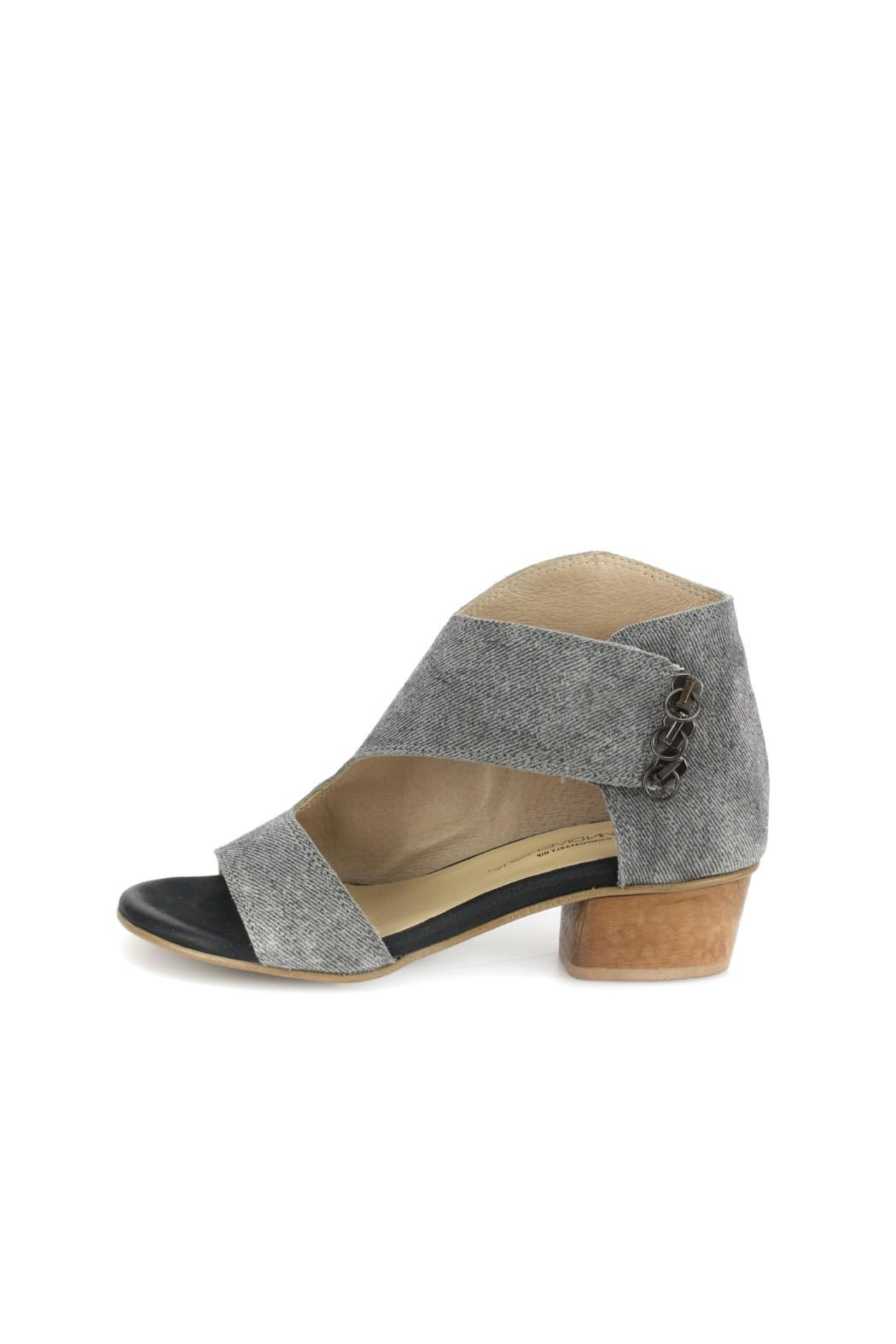 Unity.In.Diversity Grey Corduroy Heel - Front Cropped Image