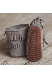 Little Love Bug Company Grey Cozy Boot - Side cropped