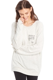 GoodhYOUman Grey Dave Sweater - Front cropped