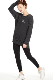GoodhYOUman Grey Dave Sweater - Front full body