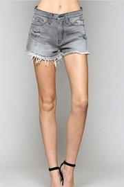 Vervet Grey Denim Shorts - Product Mini Image