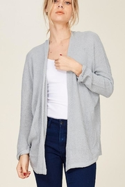 Staccato Grey Dolman Cardi - Product Mini Image