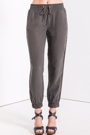 rag poets Grey Drawstring Joggers - Front cropped