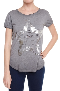 Shoptiques Product: Grey Graphic Tee
