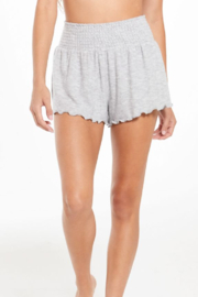 z supply Grey Hangout Shorts - Front cropped