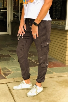 Chaser Grey Heirloom Joggers - Product List Image