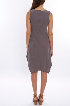Deca Grey High-Low Dress - Alternate List Image
