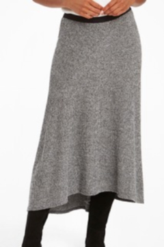 Nic +Zoe Grey high/low skirt - Product List Image