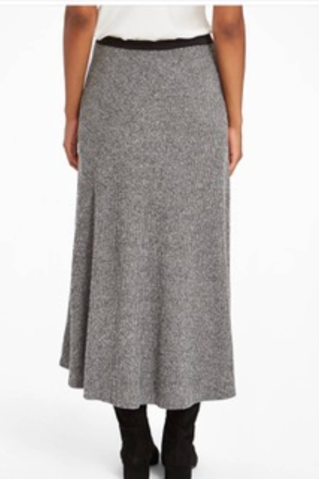 Nic +Zoe Grey high/low skirt - Side Cropped Image