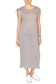 CAARA Grey Jersey Dress - Product Mini Image