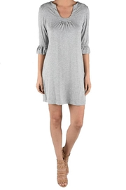 Aryeh Grey Knit Dress - Product Mini Image