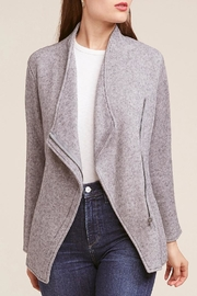 BB Dakota Grey Knit Jacket - Product Mini Image