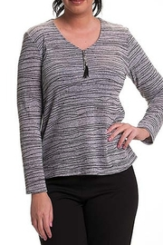 Bali Corp. Grey Knit Sweater - Product Mini Image
