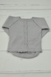 Granlei 1980 Grey Knitted Outfit - Front full body