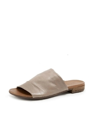 Bueno Shoes Grey Leather Slide - Product Mini Image