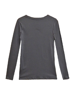 Femme Grey Long-Sleeve Top - Alternate List Image