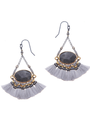 NAKAMOL CHICAGO Grey mix earrings - Product Mini Image