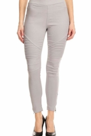 JVINI Grey Motto Jeggings - Product Mini Image