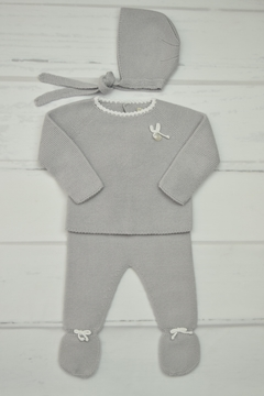 Shoptiques Product: Grey Newborn Outfit