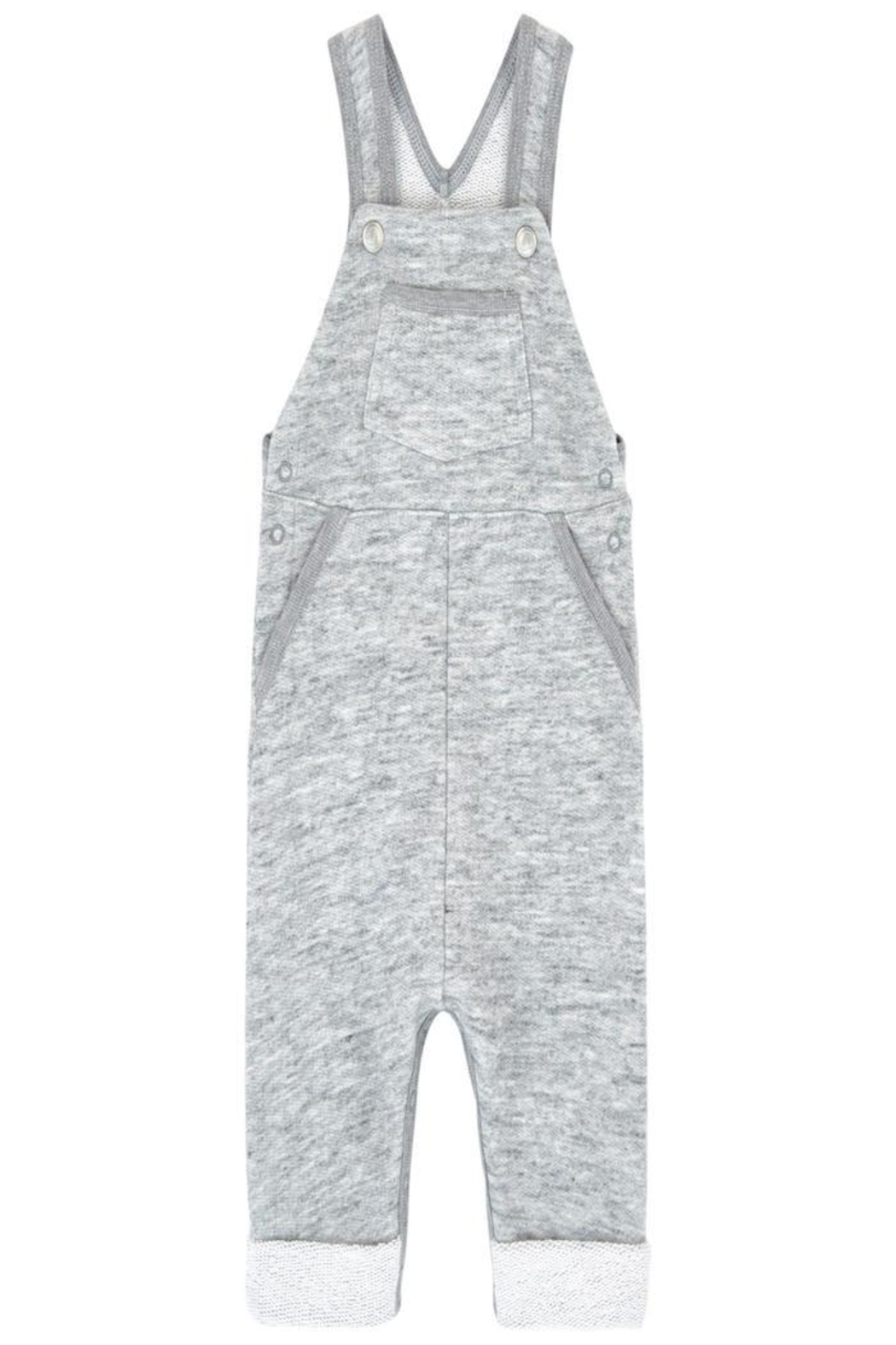 Petit Bateau Grey Overall - Front Cropped Image