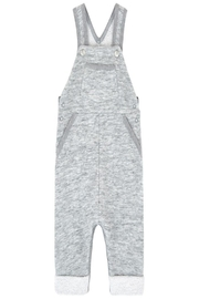 Petit Bateau Grey Overall - Front cropped