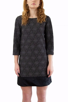 Isle Grey Patterned Dress - Product List Image