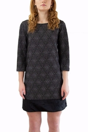 Isle Grey Patterned Dress - Product Mini Image