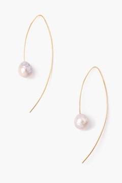 Chan Luu Grey Pearl Drops - Product List Image