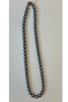 L & B CREATIONS GREY PEARL NECKLACE - Alternate List Image