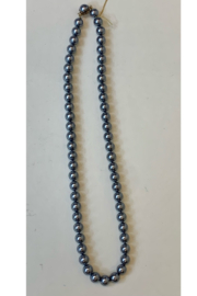 L & B CREATIONS GREY PEARL NECKLACE - Product Mini Image