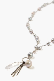 Chan Luu Grey Pearl Necklace - Product Mini Image