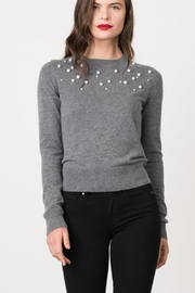 Margaret O'Leary Grey Pearl Pullover - Product Mini Image