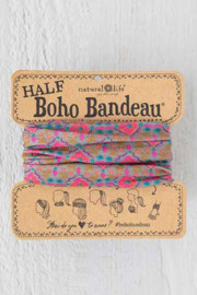 Natural Life Grey & Pink Half Boho Bandeau - Product Mini Image