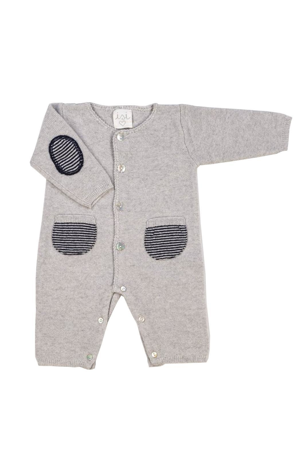 Malvi & Co. Grey Romper. - Front Cropped Image