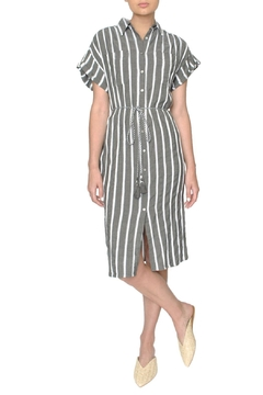 Designers Society Grey Shirt Dress - Product List Image