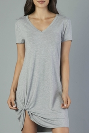 Another Love Grey Side Knot Dress - Product Mini Image