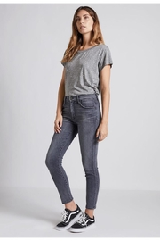 Current Elliott Grey Skinny Jeans - Product Mini Image