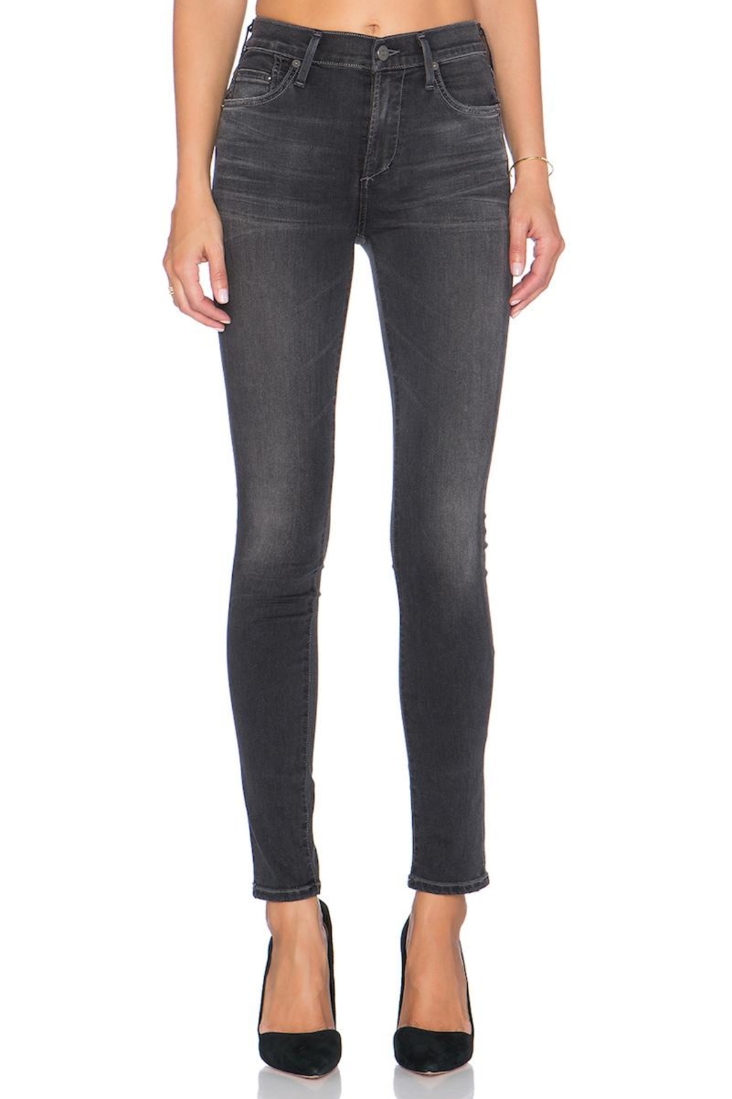 Citizens of Humanity Grey Skinny Jeans - Main Image