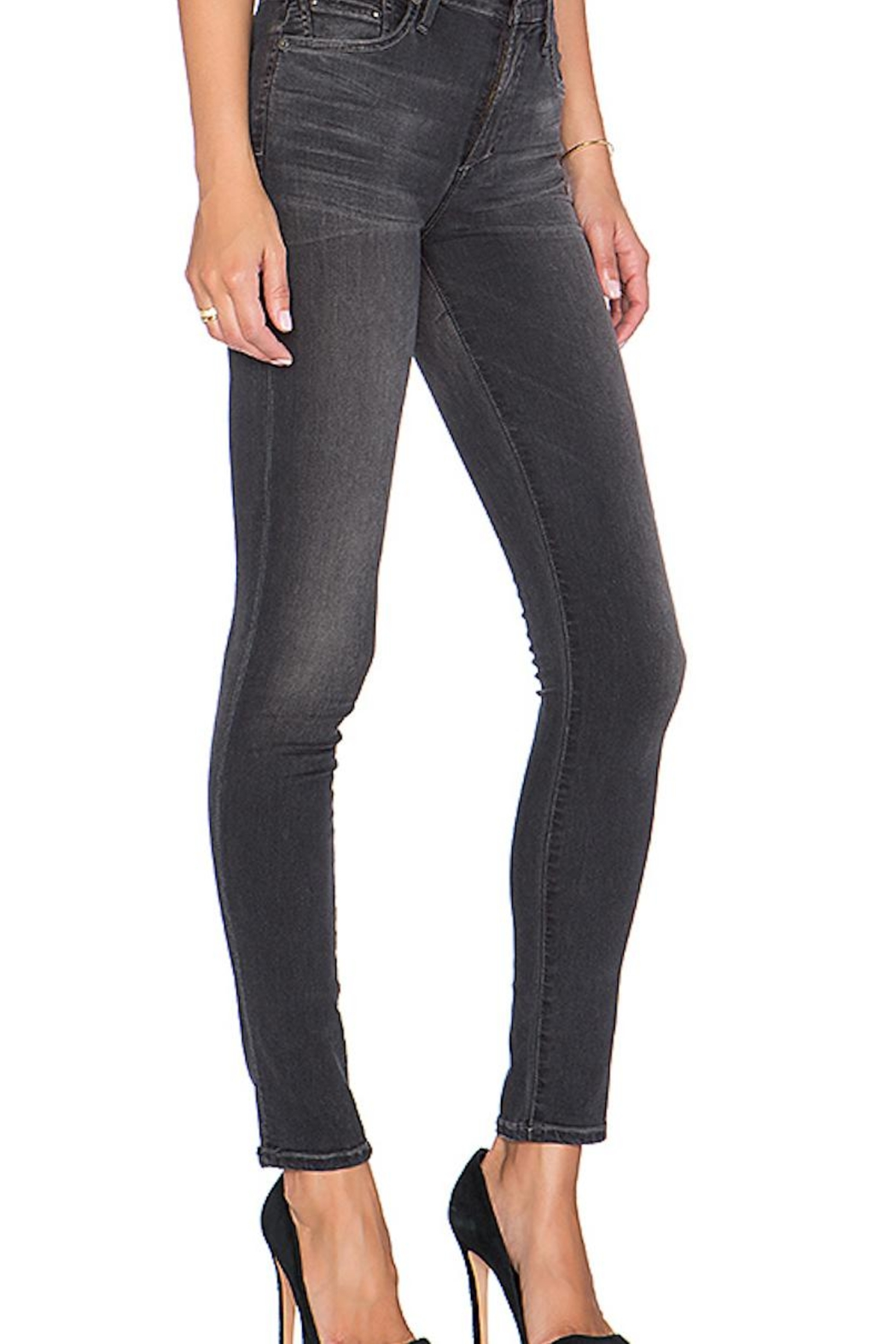 Citizens of Humanity Grey Skinny Jeans - Front Full Image